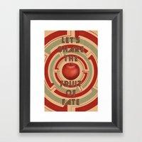 Let's Share The Fruit Of… Framed Art Print