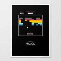 Minimal NES - Arkanoid Canvas Print