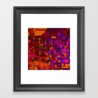 so many layers Framed Art Print