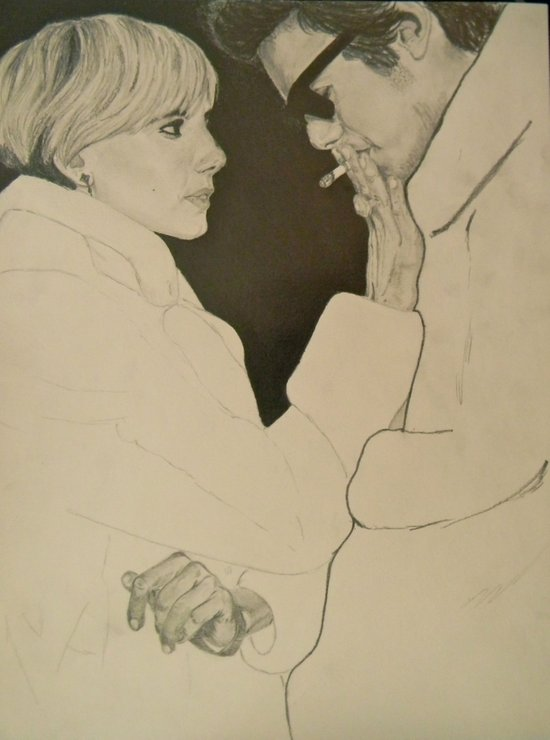 Sienna Miller & Hayden Christensen - Factory Girl Art Print