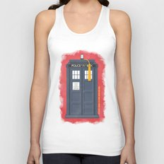 11th Doctor - DOCTOR WHO Unisex Tank Top