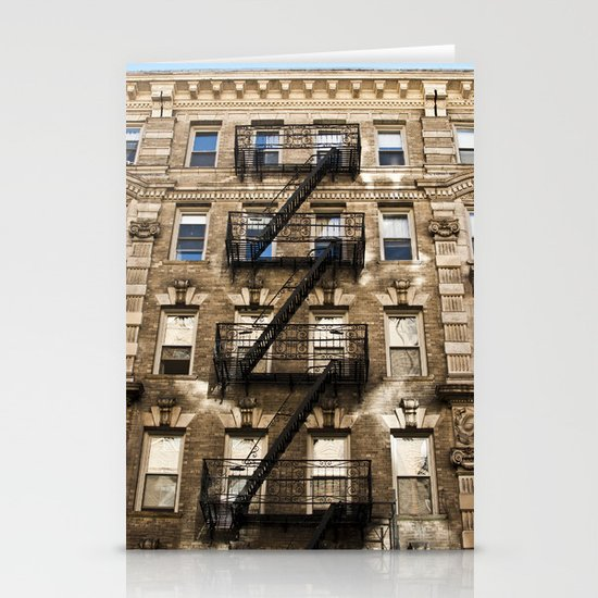 Alphabet City Stationery Card