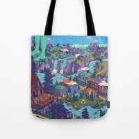 Try Not To Step On Anyth… Tote Bag
