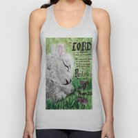 The Lord Restores Psalm 23 Unisex Tank Top
