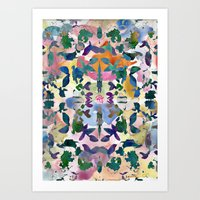 Floral Exclusion  Art Print