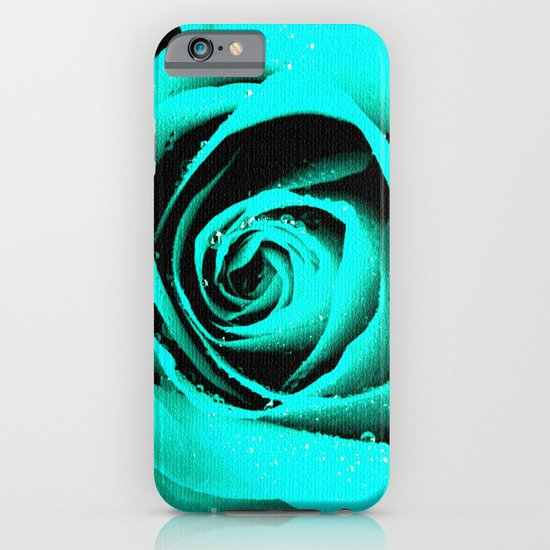 CYAN ROSE - For IPhone - iPhone & iPod Case