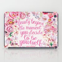 be yourself.  iPad Case