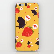 the death loves the strawberry iPhone & iPod Skin