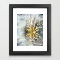 Dandelion fantasy Framed Art Print
