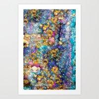 Magic Glitter Art Print