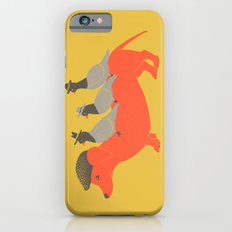 Taxi-Dog (yellow) iPhone 6 Slim Case