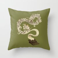 Unleashed Imagination Throw Pillow