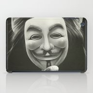 iPad Case featuring Anonymous by Dr. Lukas Brezak