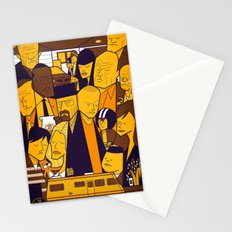 Breaking Bad (yellow version) Stationery Cards