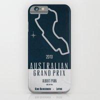 iPhone & iPod Case featuring 2013 Australian Grand Prix by F. C. Brooks