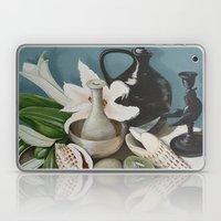 Kiwi Fruit & Lillies Laptop & iPad Skin