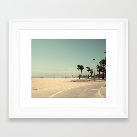 Venice Beach number 2 Framed Art Print
