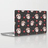 The Sugar Skull Pattern Laptop & iPad Skin