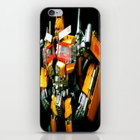 The Golden Optimus iPhone & iPod Skin