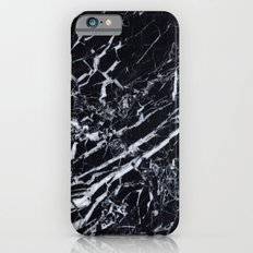Real Marble Black Slim Case iPhone 6s