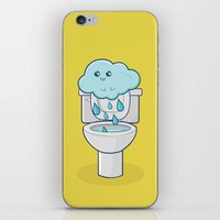 Bathroom Break iPhone & iPod Skin