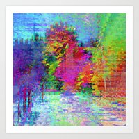 Equations involving a consequence of sequences. 04 Art Print