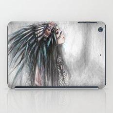 Walking Through Fog iPad Case