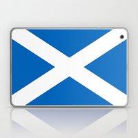 Flag of Scotland Laptop & iPad Skin