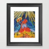 Angel Framed Art Print