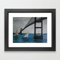 Newport Clairborne Pell … Framed Art Print