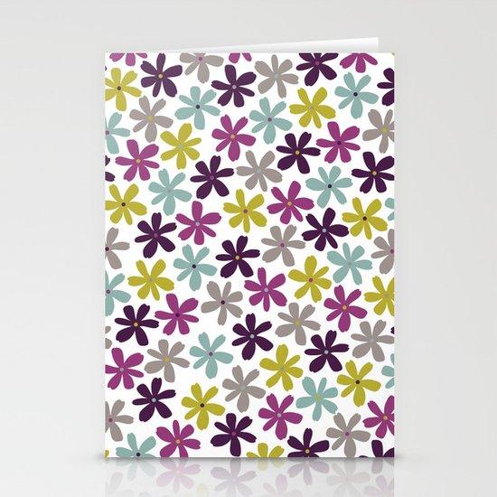 Allium Ditsy Stationery Card