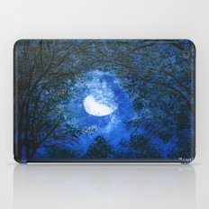 Trees in the moonlight iPad Case