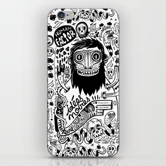 Idées noires iPhone & iPod Skin