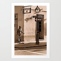 New Orleans Street Dance… Art Print