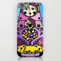 "Colorful matryoshka- ""I love you always forever"" by Lilach Vidal iPhone & iPod Case"