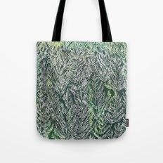 Snow Pines(Light Green) Tote Bag
