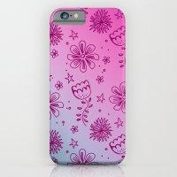 Summer Flower pattern iPhone 6 Slim Case