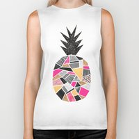 Pretty Pineapple Biker Tank