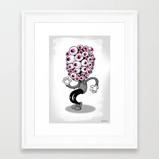 Ojon Framed Art Print