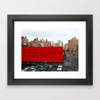 Soon-Park-Car Framed Art Print