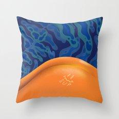 Tan Lines Throw Pillow
