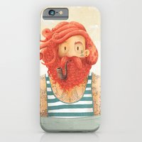 stripes iPhone & iPod Cases featuring Octopus by Seaside Spirit