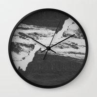Double Mountain Wall Clock