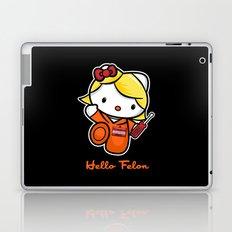 Orange is the New Cat Laptop & iPad Skin