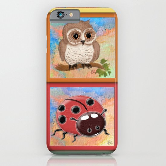 Baby animals iPhone & iPod Case