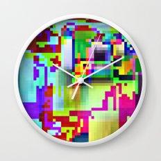 port13x10a Wall Clock