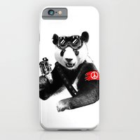 iPhone & iPod Case featuring Panda Rebel by Steven Toang