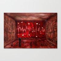 Lovestory Canvas Print