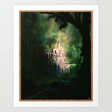 Mysterious Castle Art Print
