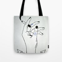 Dirty - Chills That Kill Tote Bag